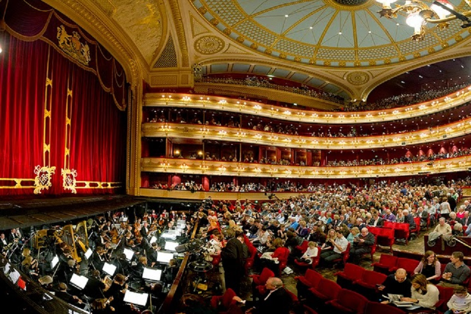 Royal Opera House. London
