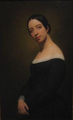 Ary Scheffer. Retrato de Pauline Viardot. Musée de la vie romantique. Paris