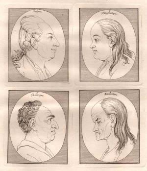 Physiognomische Fragmente zur Beförderung der Menschenkenntnis und Menschenliebe (1875-1878)
